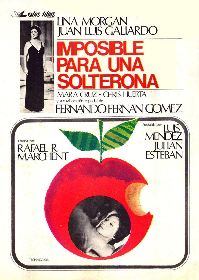 Imposible para una solterona Poster