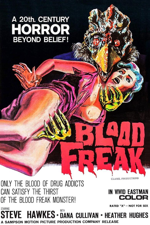 Blood Freak Poster