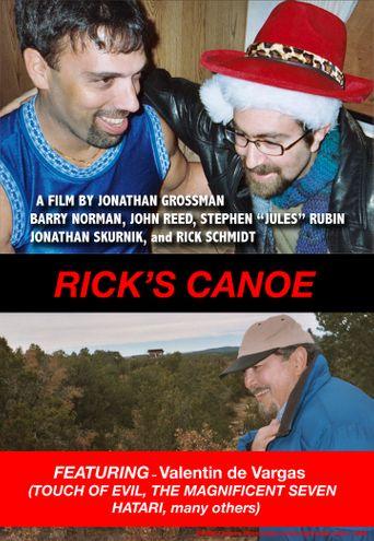 Rick's Canoe Poster