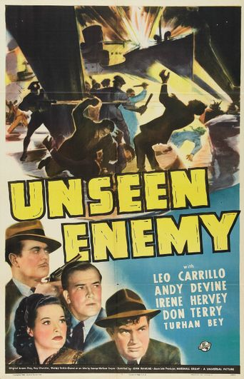 Unseen Enemy Poster