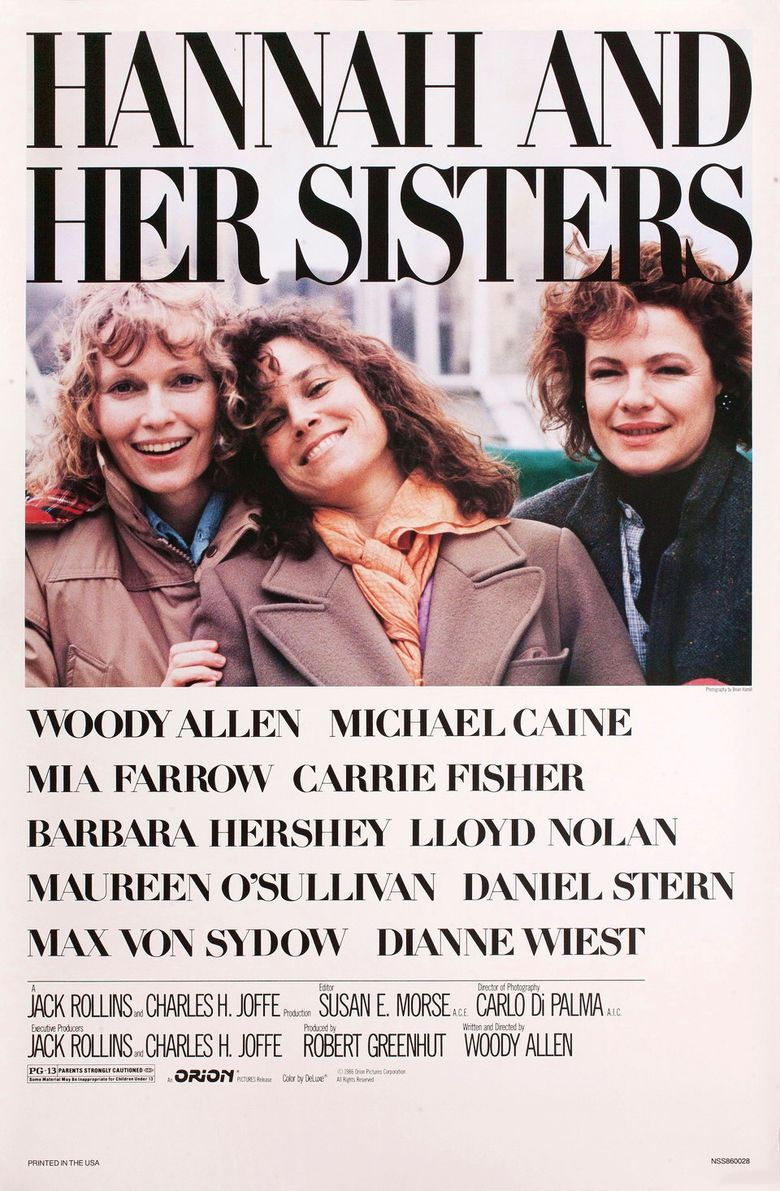 Hannah and Her Sisters Poster