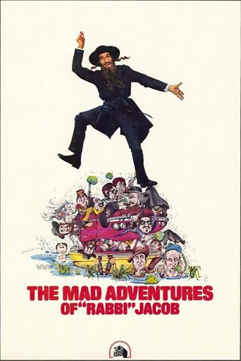 The Mad Adventures of Rabbi Jacob Poster