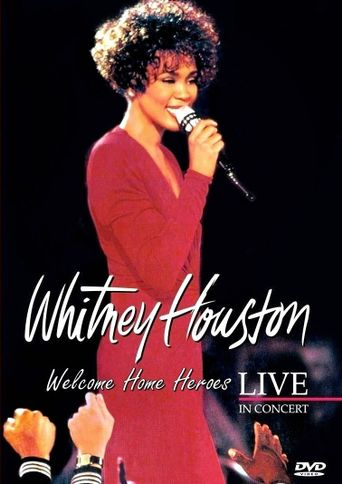 Whitney Houston: Live in Concert Poster