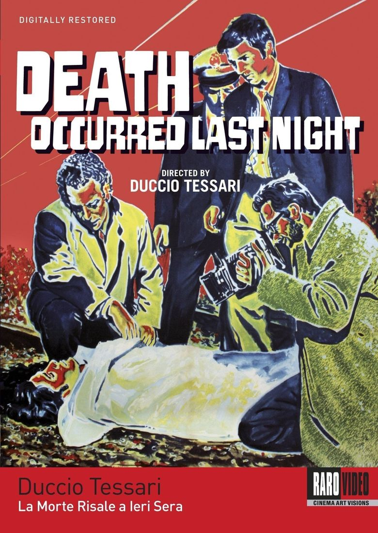 Death Occurred Last Night Poster