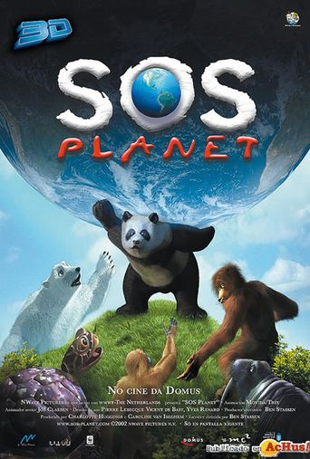 S.O.S. Planet Poster