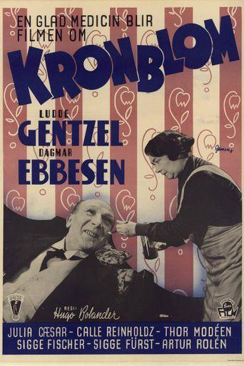 Kronblom Poster