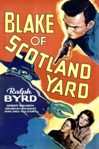 Blake of Scotland Yard Poster