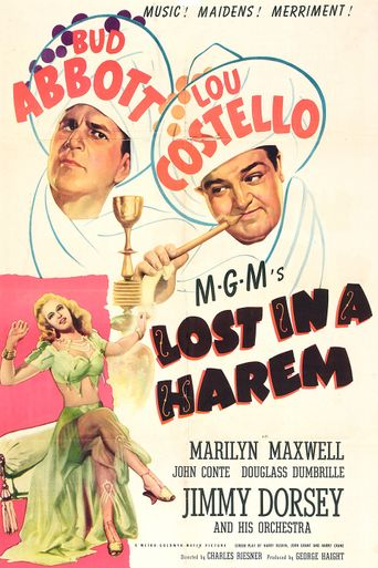 Lost in a Harem Poster