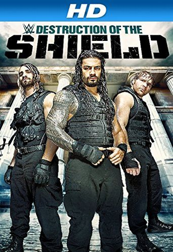 WWE: The Destruction Of The Shield Poster