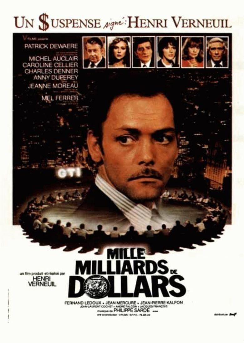 Mille milliards de dollars Poster