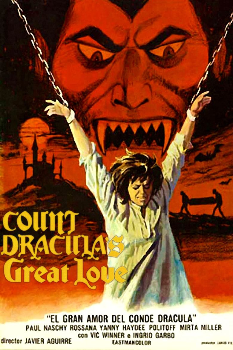 Count Dracula's Great Love Poster