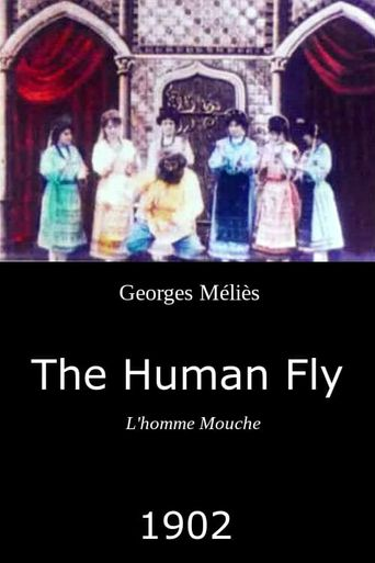 The Human Fly Poster