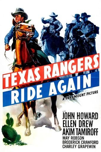 The Texas Rangers Ride Again Poster