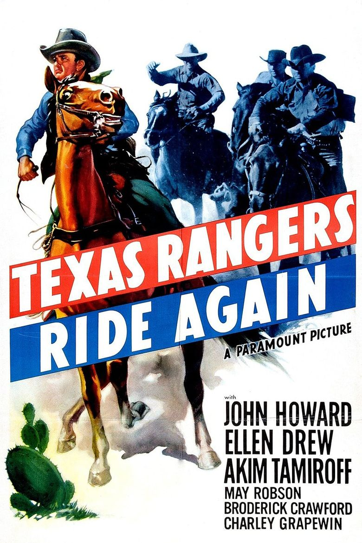 The Texas Rangers Ride Again Poster