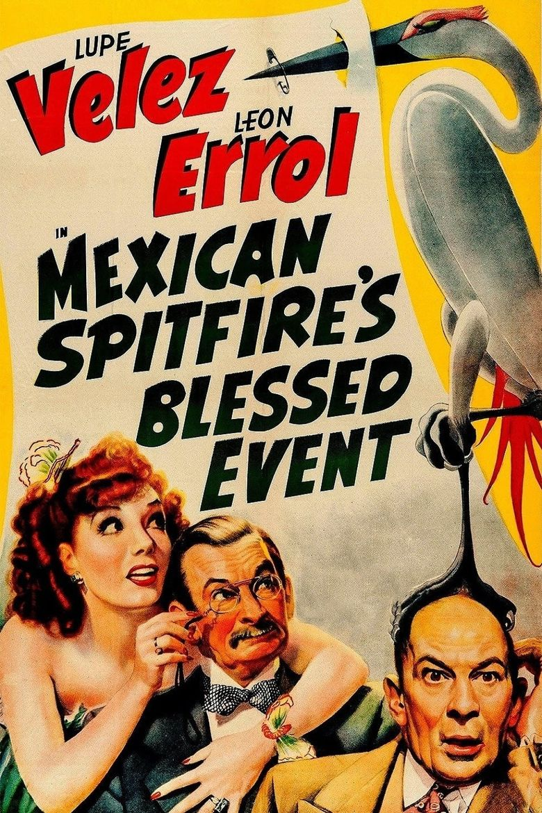 Mexican Spitfire's Blessed Event Poster