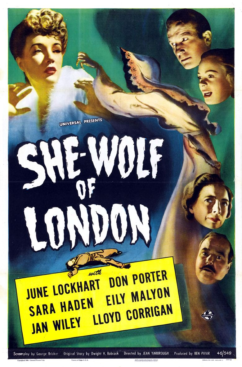 Watch She-Wolf of London