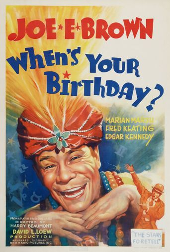 When's Your Birthday? Poster