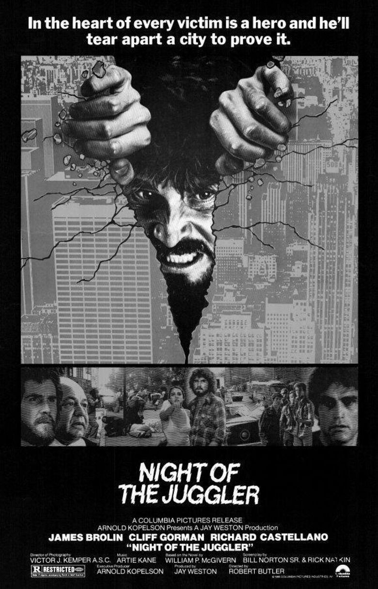 Night of the Juggler Poster