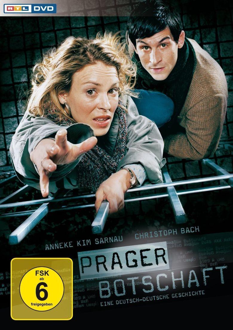 Prager Botschaft Poster