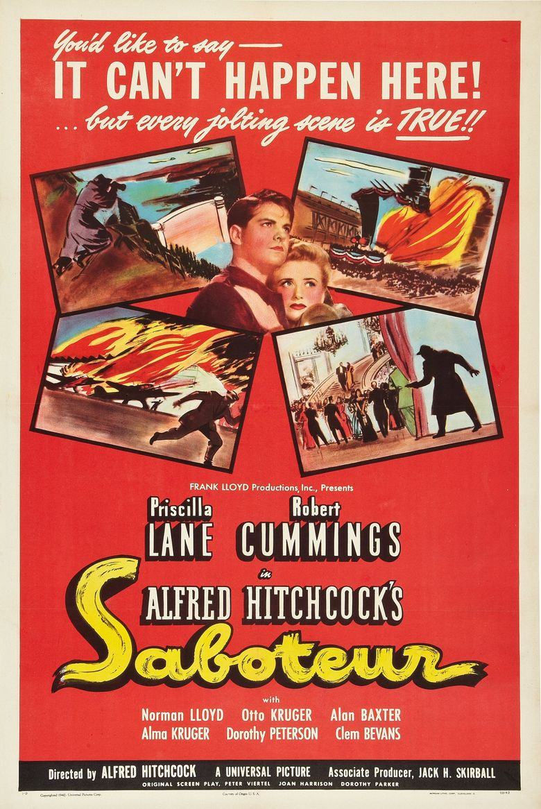 Watch Saboteur
