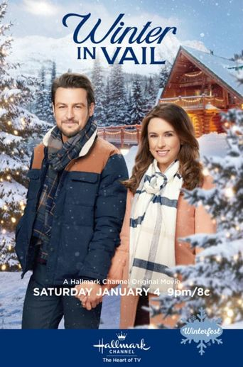 Winter in Vail Poster