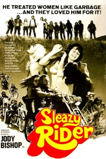Sleazy Rider Poster