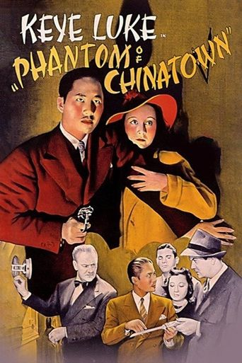 Phantom of Chinatown Poster