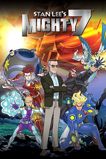 Stan Lee's Mighty 7 Poster