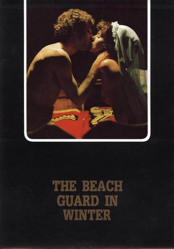 Beach Guard in Winter Poster