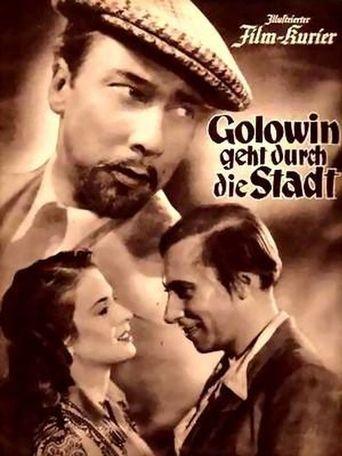 Golowin geht durch die Stadt Poster