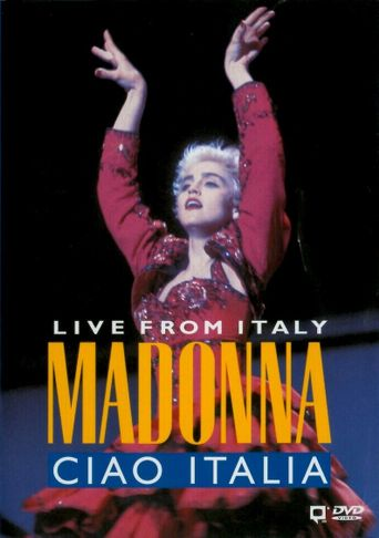 Madonna: Ciao, Italia! - Live from Italy Poster