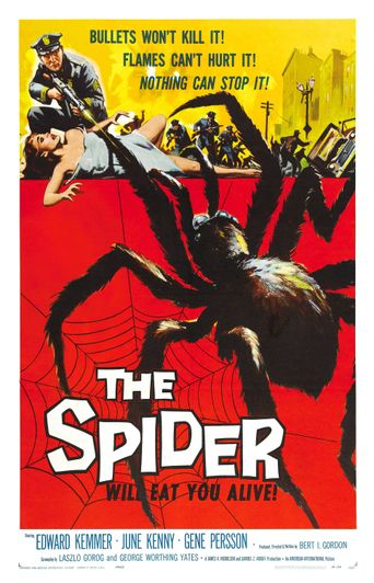 Earth vs. the Spider Poster
