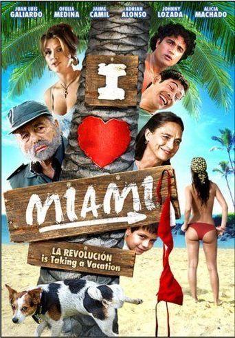 I Love Miami Poster