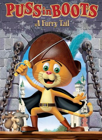 Puss in Boots: A Furry Tail Poster