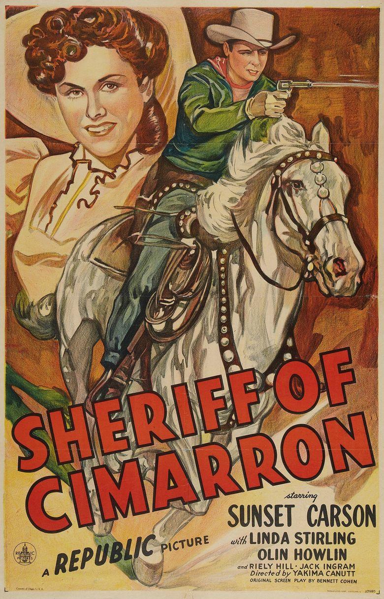 Sheriff of Cimarron Poster