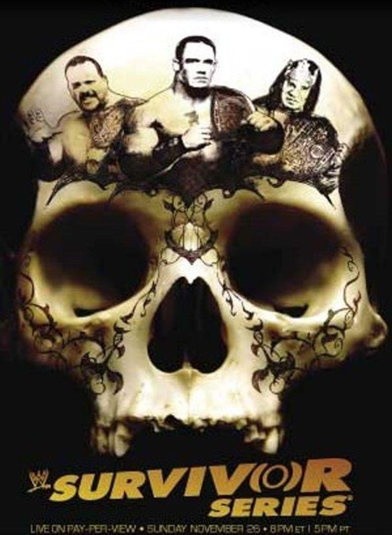 WWE Survivor Series 2006 Poster