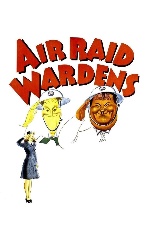 Air Raid Wardens Poster