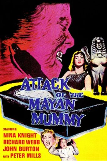 Attack of the Mayan Mummy Poster