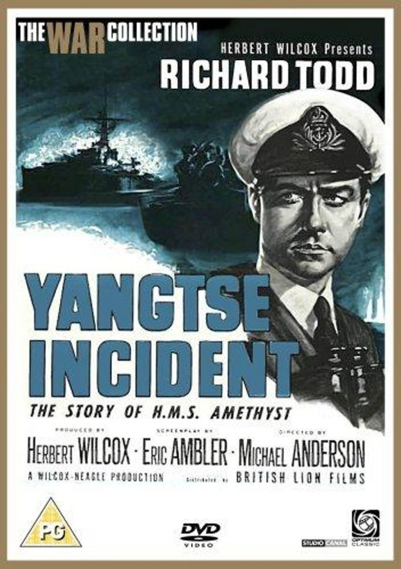 Yangtse Incident: The Story of H.M.S. Amethyst Poster