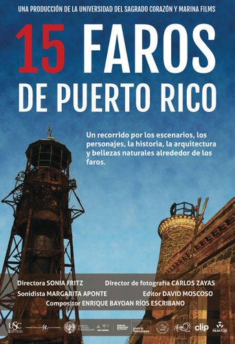 15 Lighthouses in Puerto Rico Poster