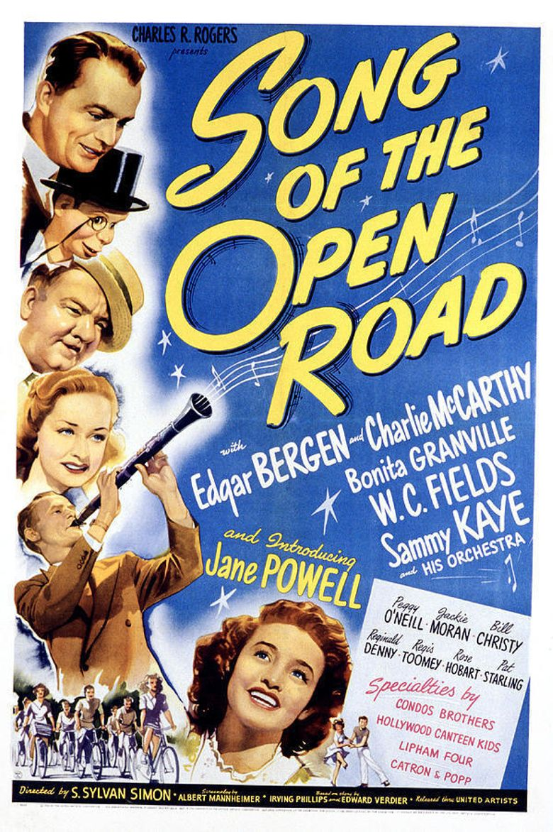 Song of the Open Road Poster
