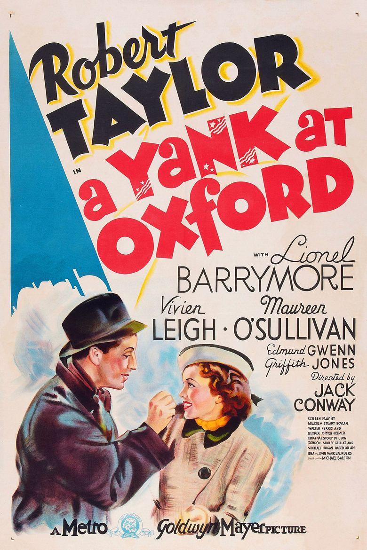 A Yank at Oxford Poster