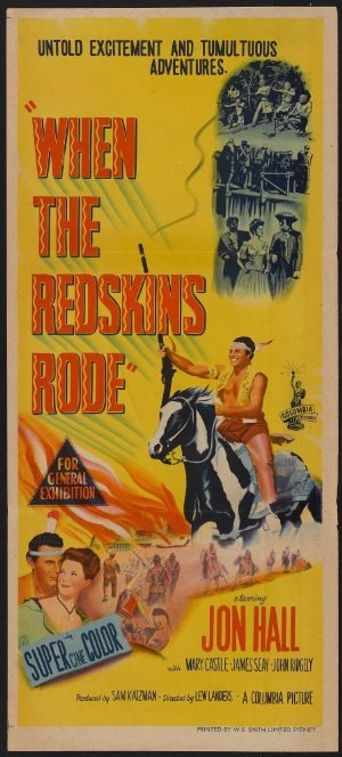 When the Redskins Rode Poster