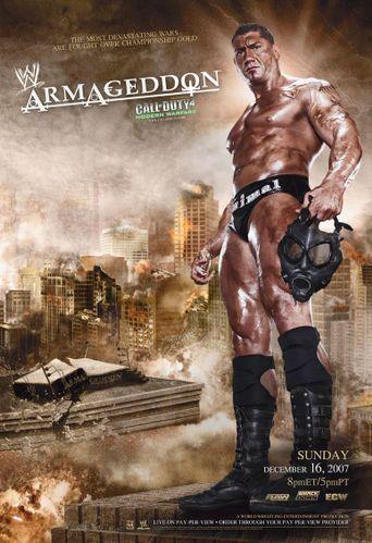 WWE Armageddon 2007 Poster