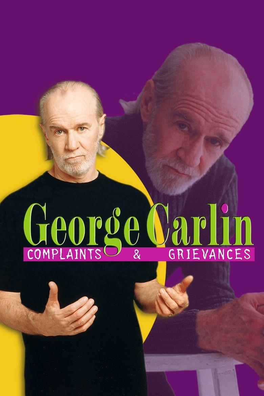 George Carlin: Complaints & Grievances Poster