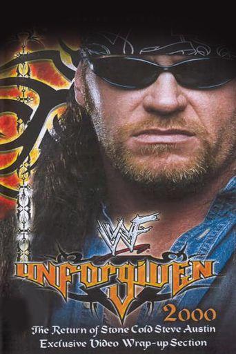 WWE Unforgiven 2000 Poster