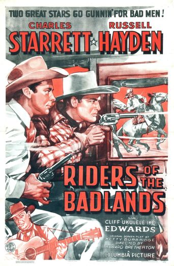 Riders of the Badlands Poster