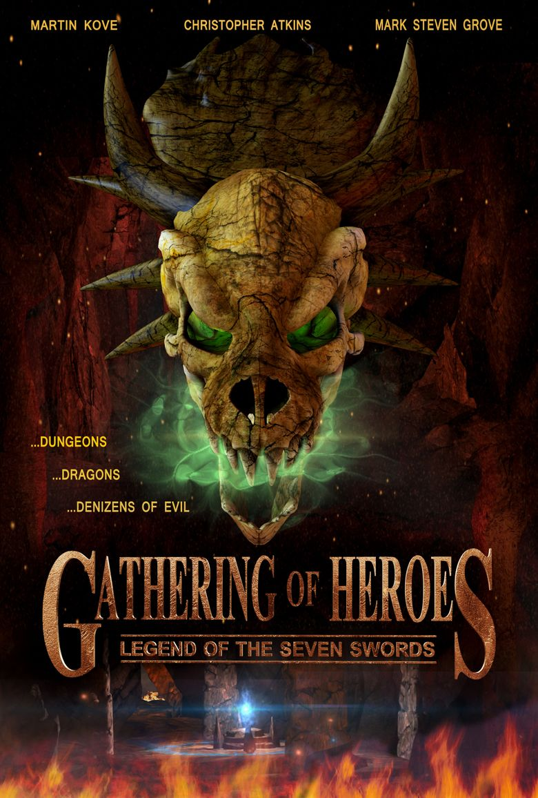 Gathering of Heroes: Legend of the Seven Swords Poster
