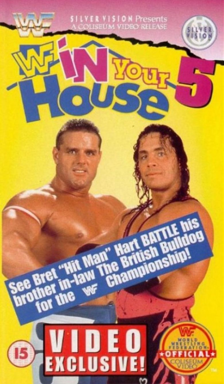 WWE In Your House 5: Seasons Beatings Poster