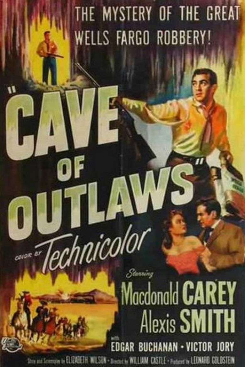 Cave of Outlaws Poster